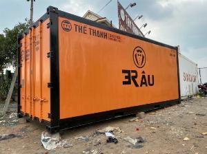 Thùng Container lạnh trữ đông hàng hóa
