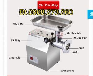 Máy xay thịt JD 12 inox 650W