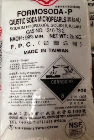Xút hạt Đài Loan 99%