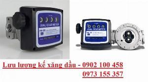 Đồng hồ đo dầu FM-150,Đồng hồ đo dầu hiển thị cơ 4 số fm150,máy đo dầu fm150