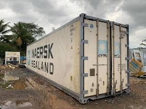 Container lạnh 40ft bảo quản hàng đông lạnh