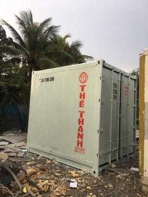 Container lạnh trữ hàng đông lạnh mùa dịch