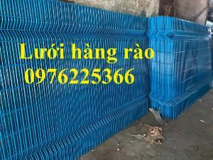 Chuyên sản xuất lưới hàng rào phi 4, phi 5, phi 6 theo yêu cầu