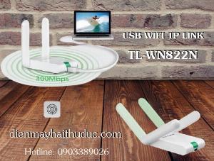 2021-07-10 16:34:25  4  USB thu Wifi TP-Link TL-WN822N tốc dộ chuẩn 300Mbps 275,000