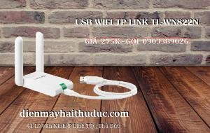 2021-07-10 16:34:25  3  USB thu Wifi TP-Link TL-WN822N tốc dộ chuẩn 300Mbps 275,000