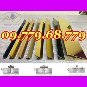 Nẹp T10mm inox 304 , Nẹp T15mm inox 304 , Nẹp T20mm inox 304 ,