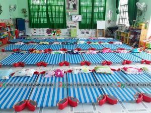 Giường lưới trẻ em - giường mầm non giá rẻ