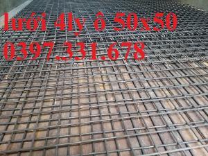 Lưới thép hàn 4 ly ô 50x50 giá sỉ