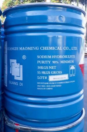 Sodium hydrosulfite (Tẩy đường), 90% Na2S2O4, Trung Quốc, 50kg/thùng
