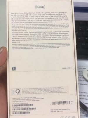 Bán Iphone 8 Plus mua Viettel vừa hết bảo hành