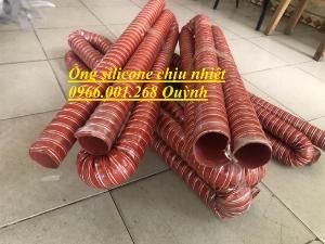 Ống silicone chịu nhiệt cao ,Ống thông gió chống cháy phi 51,phi 63,phi 76,phi 100,phi 125,phi 150 giá rẻ