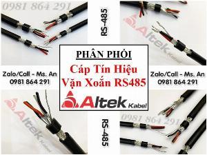 Cáp tín hiệu vặn xoắn chống nhiễu theo cặp RS485