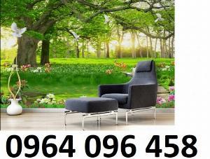 Tranh gạch ốp tường 3d phòng khách - 654XM