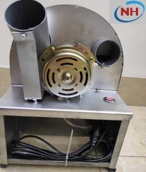 [ CHẠY ĐIỆN ] Máy thái hành tỏi, củ quả đa năng chạy mô tơ điện siêu nhanh