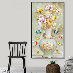 Gạch tranh - tranh bình hoa đẹp