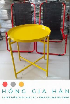 Bàn ghế cafe giá rẻ Hồng Gia Hân C102