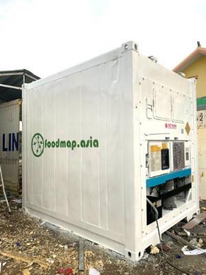 Container lạnh làm kho lạnh trữ đông 16m3