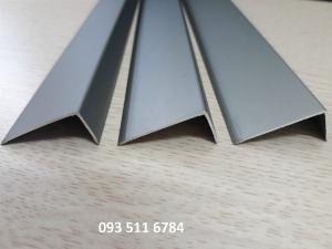 Nẹp L V kết thúc sàn gỗ Nẹp nhôm kết thúc sàn nhựa 4mm Nẹp V Inox cao cấp