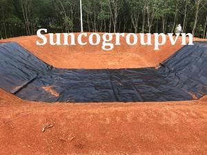 Bạt hdpe 1mm khổ 4x50m lót mái che-suncogroupvn