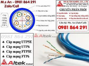 Dây cáp mạng chống nhiễu FTP Cat5e, Cat6 giá tốt – chính hãng