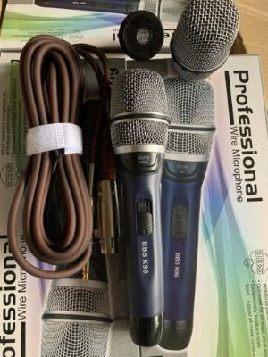 Micro Có Dây BBS K99 Hàng Nội Địa Karaoke Chuyên Nghiệp