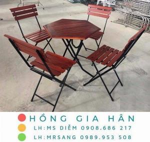 Bàn ghế Fansipan Hồng Gia Hân C103
