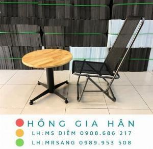 Bàn ghế cafe giá rẻ Hồng Gia Hân C114