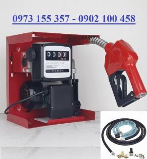 Máy bơm dầu ETM60-AC 220V,bộ bơm xăng dầu 220V ETM-60,bơm dầu 220V 60 lít/phút
