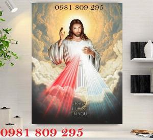 Tranh chúa - gạch tranh 3d công giáo