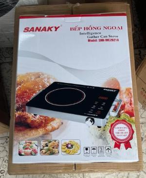 Bếp hồng ngoại Sanaky SNK-IHC2021A kiểu dáng đơn giản, siêu mỏng