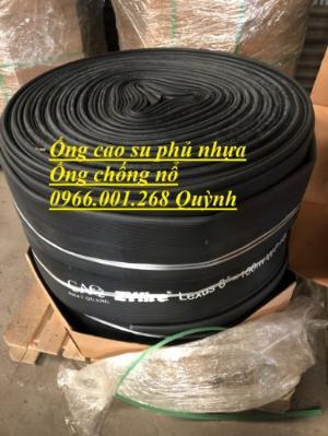 Ống chống nổ , ống cao su siêu nhẹ, ống cao su bố vải phủ nhựa phi 100,phi 125,phi 150,phi 200