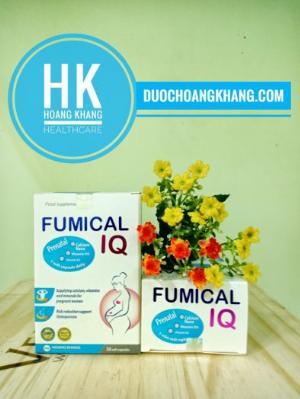 Fumical IQ Prenatal Cung cấp canxi, vitamin và khoáng chất cho cơ thể