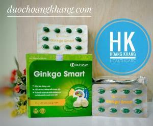 Ginkgo Smart Hỗ trợ tăng cường tuần hoàn não, giúp máu lưu thông.