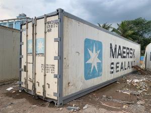 Container lạnh 40feet giá tốt chưa thực phẩm