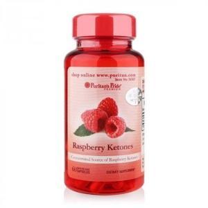RASPBERRY KETONES 100mg (Lọ 60 Viên ) Hỗ trợ hạn chế sự tích tụ chất béo và các chất dưa thừa trong cơ thể.