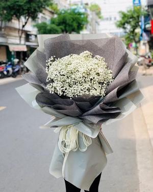 Bó hoa baby trắng đẹp - LDNK102
