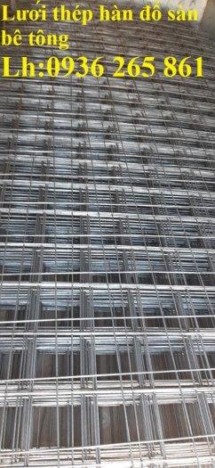 Sản xuất lưới thép hàn dây 4 mắt 100x100 đổ sàn bê tông, đổ cầu, cống rãnh cường lực cao