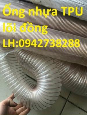 Bán ống nhựa PU lõi thép mạ đồng phi 200 hàng có sẵn, giao hàng toàn quốc