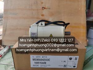 Động cơ MSMA042A3C   Panasonic   Hàng nhập khẩu trực tiếp   Cty Hoàng Anh Phương