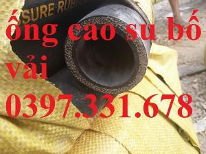 Ống cao su bố vải phi 22, phi 25, phi 27, phi 32 giá sỉ tại Hà Nội