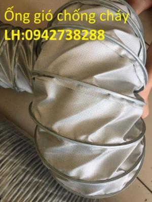 Bán ống gió vải chống cháy chịu nhiệt độ cao giá ưu đãi, giao hàng toàn quốc