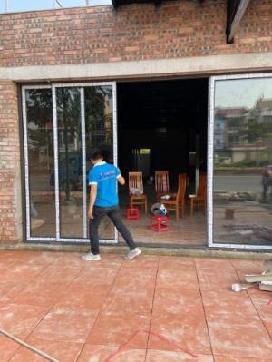Cửa nhôm kính dạng lùa các loại tại Bắc Ninh