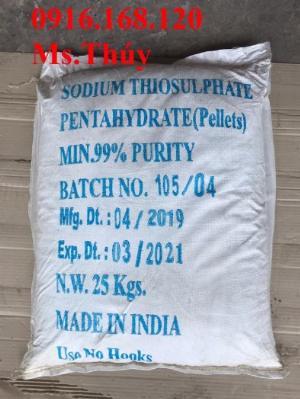 SODIUM THIOSULPHATE: Khử Chlorine và kim loại nặng