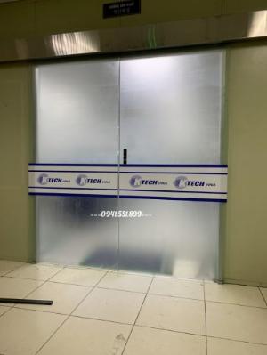 Cửa kính tự động Bắc Ninh, kính cường lực Bắc Ninh