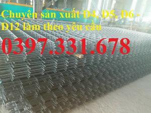 Lưới thép hàn phi 8 ô (100x100), ô (150x150), ô (200x200) giá tốt