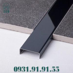 2021-07-24 10:48:11  19  Nẹp inox chữ U - Nẹp U inox màu đen - Nẹp U inox vàng gương - Nẹp U inox 200,000
