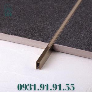 2021-07-24 10:48:11  3  Nẹp inox chữ U - Nẹp U inox màu đen - Nẹp U inox vàng gương - Nẹp U inox 200,000