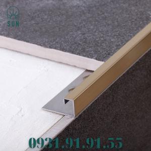 2021-07-24 10:53:06  5  Nẹp góc vuông kế thúc gạch bằng inox - Nẹp góc vuông kết thúc sàn - Nẹp kết thúc dạng vuông 270,000