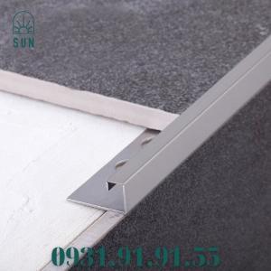 2021-07-24 10:53:06  3  Nẹp góc vuông kế thúc gạch bằng inox - Nẹp góc vuông kết thúc sàn - Nẹp kết thúc dạng vuông 270,000