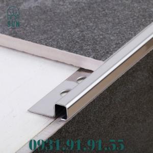 2021-07-24 10:56:23  3  Nẹp inox ốp gạch dạng vuông 1 cánh - Nẹp inox ốp góc vuông - Nẹp inox ốp viền gạch dạng vuông 300,000